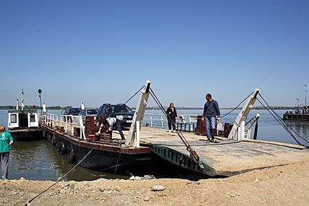 Serbeien - Fähre nach Ram