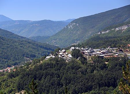 Serbien - Landschaft bei Mocra Gora