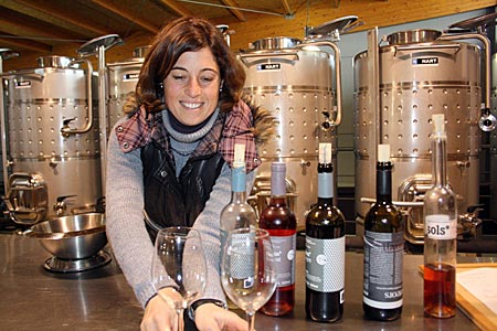 Spanien - Katalonien - Weingut La Vinyeta