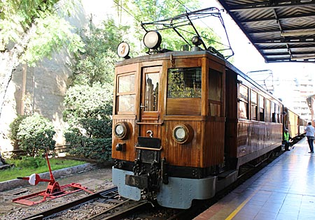 Balearen - Mallorca - historische Straßenbahn