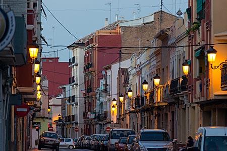 Spanien - Valencia - ehemaliges Fischerviertel El Cabanyal