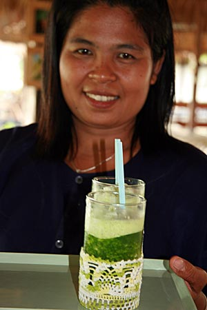 Thailand - Sukohthai - Reisgras-Saft