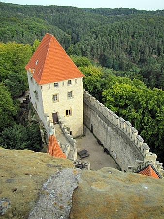 Tschechien - Burg Kokorin