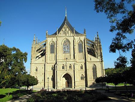 Tschechien - Kutna Hora Kuttenberg) - gotischer Dom St. Barbara
