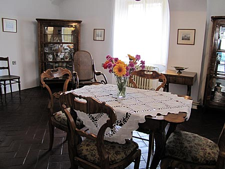 Tschechien - Dorf Nelahozeves - Geburtshaus Antonin Dvorak