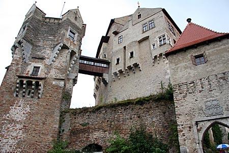 Tschechien - Burg Pernstein  in Südmähren