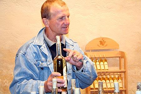 Tschechien - Burg Perstein in Südmähren - Weinhändler Milan Veteska