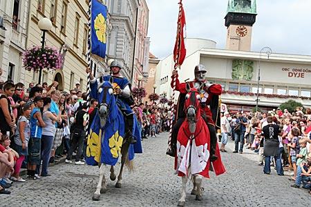 Tschechien - Südmähren - Weinfest in Znojmo