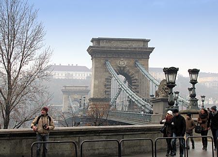 Ungarn - Budapest - Kettenbrücke