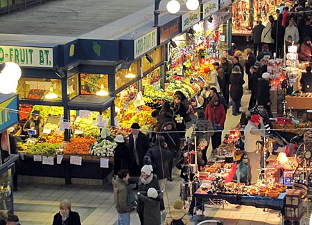 Ungarn - Budapest - zentrale Markthalle