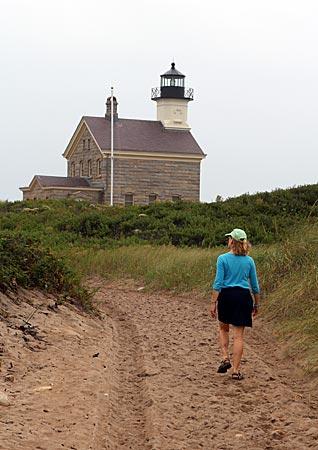 USA - Neuengland - Block Island - Leuchtturm