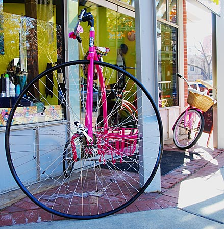 USA - Colorado - Boulder - Fahrräder