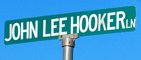 USA - Clarksdale - John Lee Hooker Lane