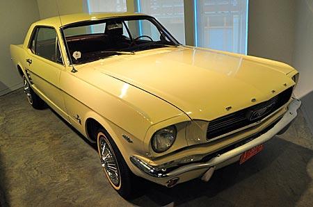 Memphis - Ford Mustang, der Fluchtwagen des mutmaßlichen Mörders von Martin Luther King