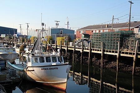 USA - Maine - Wharf